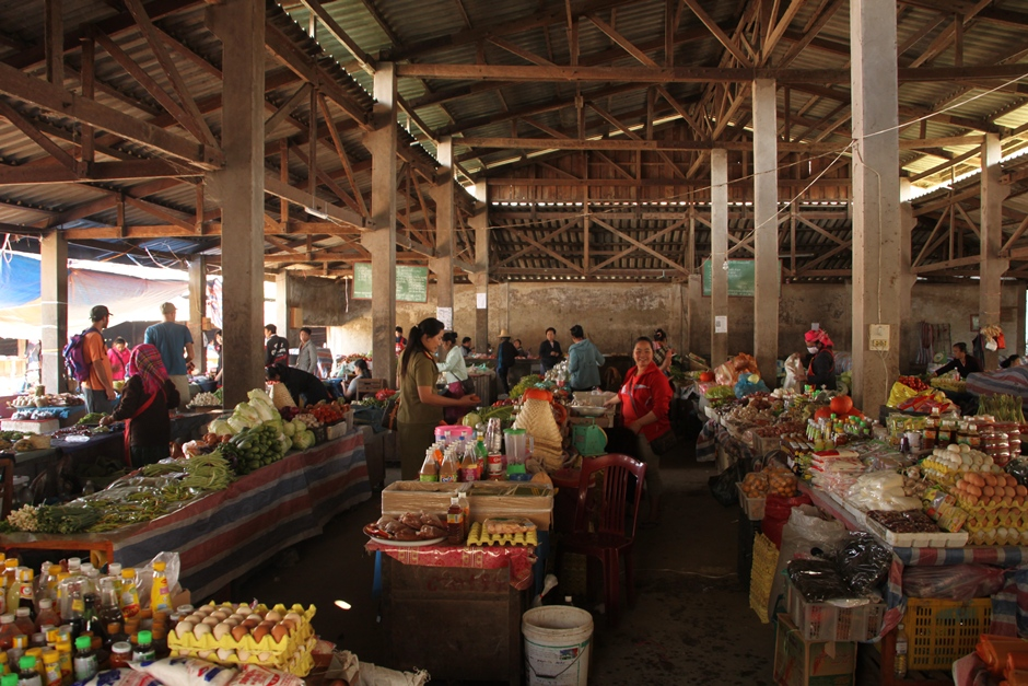 The city-market in Phongsali